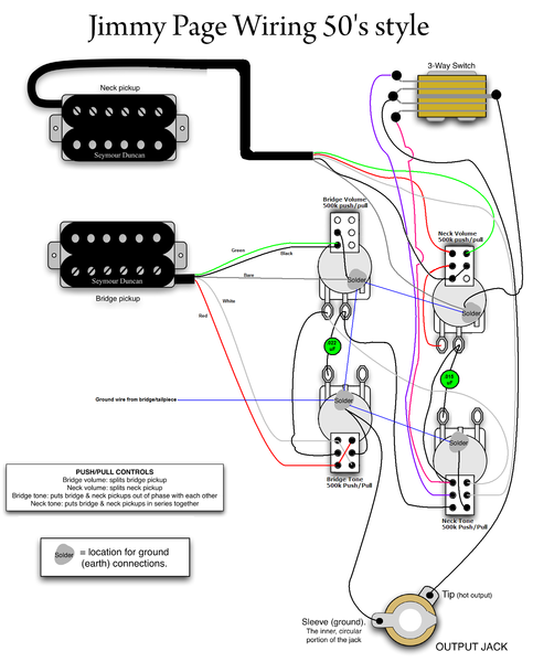 Jimmy page 50s wiring page 2 my les paul forum cheapraybanclubmaster Gallery